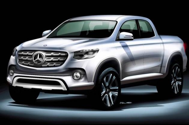 Mercedes-Benz-Pickup-sketch-concept