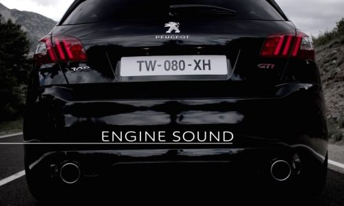 Video: Peugeot shows off the engine sound of the new 308 GTi