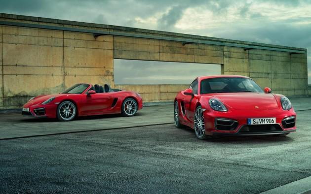 Porsche Boxster-Cayman GTS