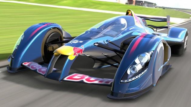 Red Bull Gran Turismo car
