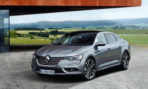 Renault Talisman revealed, new premium mid-size sedan