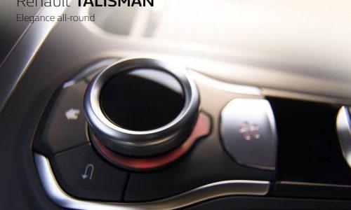 Renault Talisman previewed, new mid-size sedan