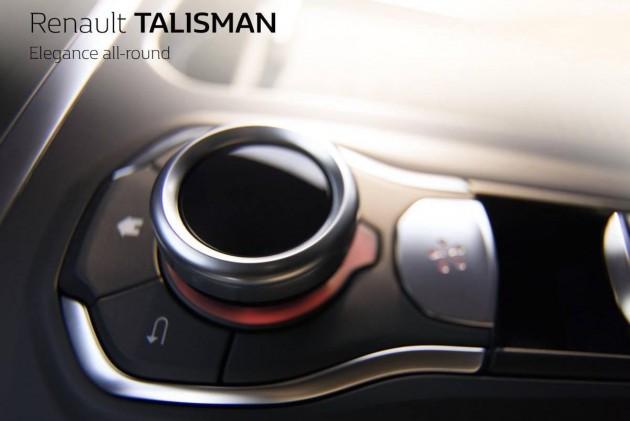 Renault Talisman interface controller