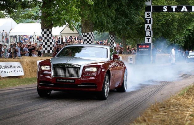 Rolls-Royce Wraith Goodwood Festival 2015