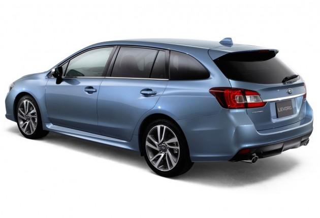 Subaru Levorg-rear