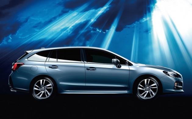 Subaru Levorg-side