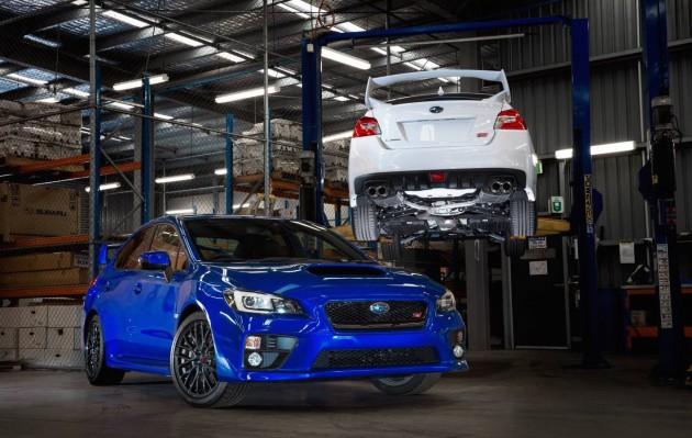 Subaru WRX STI NR4 Spec-Australia