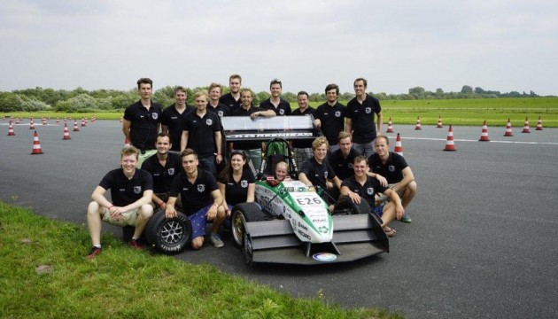 University of Stuttgart Formula racer