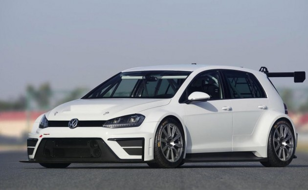 Volkswagen Golf TCR concept-front