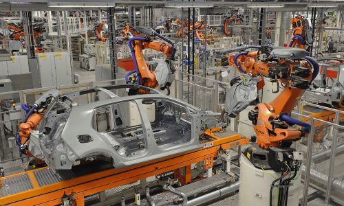 Worker at VW factory crushed to death by robotic arm