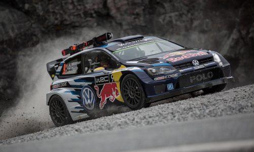 Video: Volkswagen Polo WRC car vs gold-medalist downhill skier
