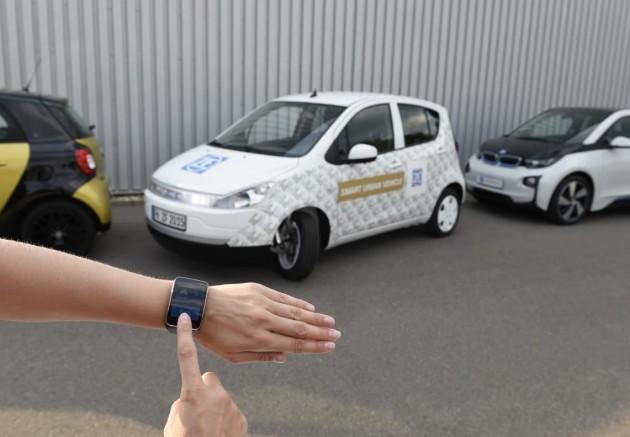ZF Smart Urban Vehicle-auto parking