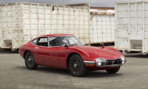 For Sale: 1967 Toyota 2000GT, first US-delivered example