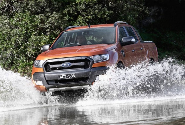 2015 Ford Ranger Wildtrak-water