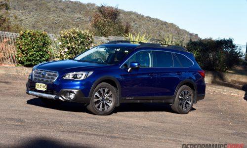 2015 Subaru Outback review (video) – 2.0D & 2.5i