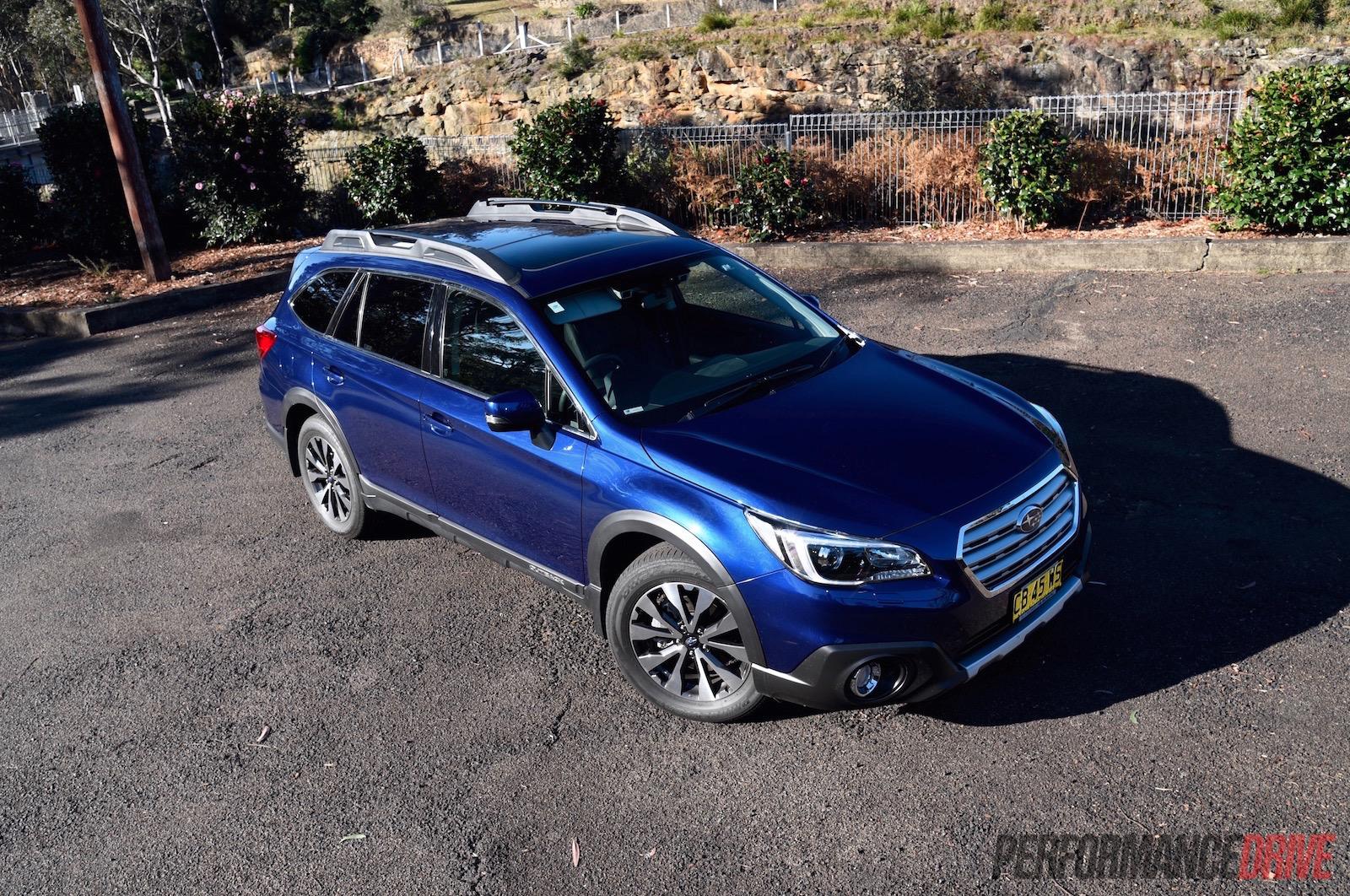 2015 Subaru Outback review (video) - 2 0D & 2 5i
