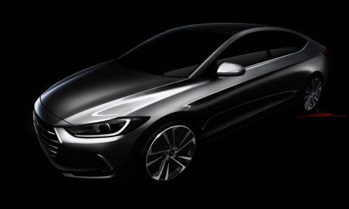 2016 Hyundai Elantra previewed before LA show debut