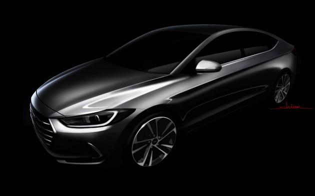 2016 Hyundai Elantra-sketch