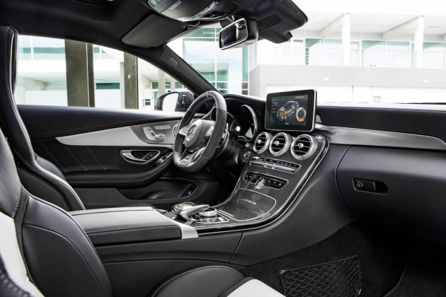 2016 Mercedes-AMG C 63 AMG Coupe-interior