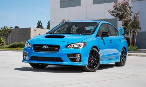 Subaru WRX, STI, BRZ Hyper Blue editions announced for Australia