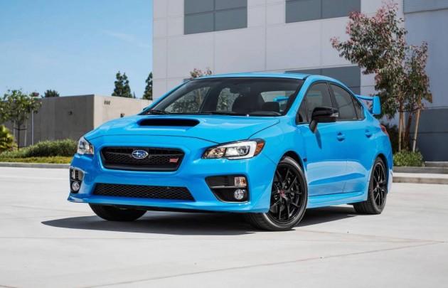 2016 Subaru WRX STI Hyper Blue