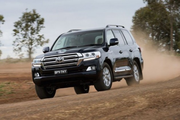 2016 Toyota LandCruiser-off road