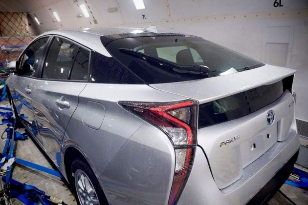 2016 Toyota Prius-rear