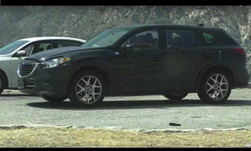 Video: 2017 Mazda CX-9 prototype spotted in LA