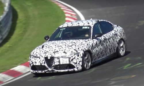Video: Alfa Romeo Giulia QV prototypes being tested to limits