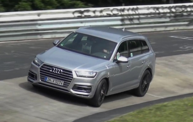 Audi SQ7 prototype