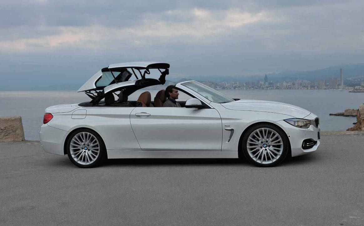 Next BMW 4 Series convertible; carbon architecture, fabric ...