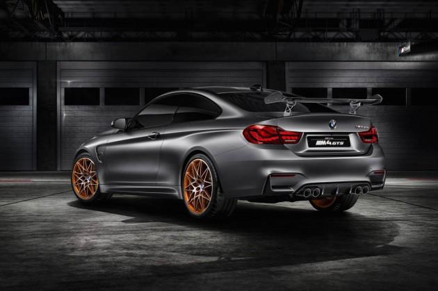 BMW M4 GTS concept-rear