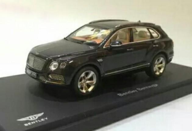Bentley Bentayga model