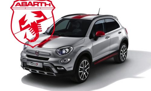 """Abarth Fiat 500X to be """"everything but a family version"""""""