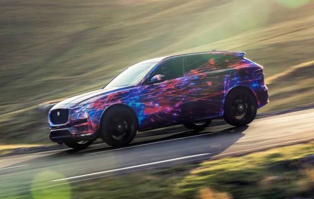 Jaguar F-Pace prototype-front
