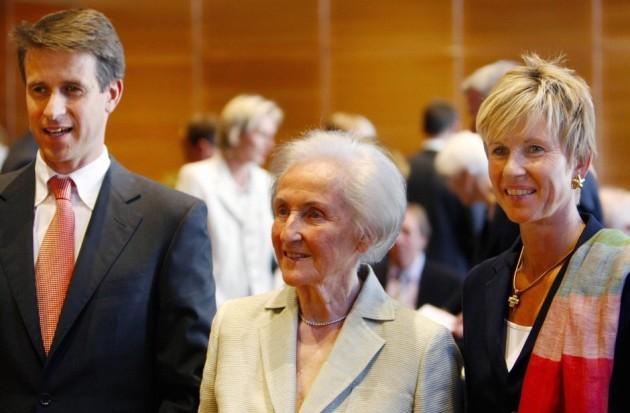 Johanna Quandt and family
