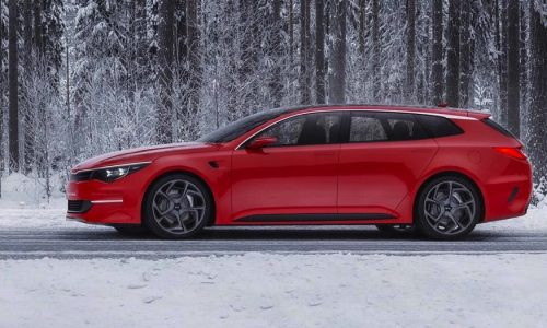 """Kia confirms """"new body style"""" for Optima, wagon likely"""