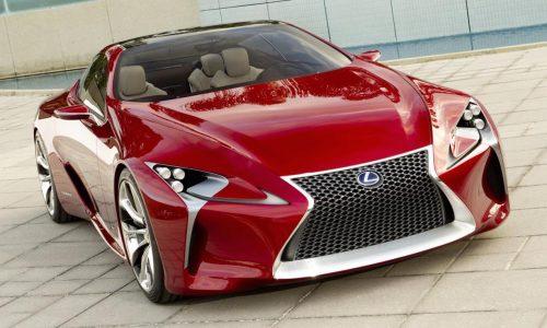 Lexus plans 2nd flagship, alongside LS sedan