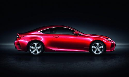 Lexus RC 200t announced for Europe, gets new 2.0L turbo