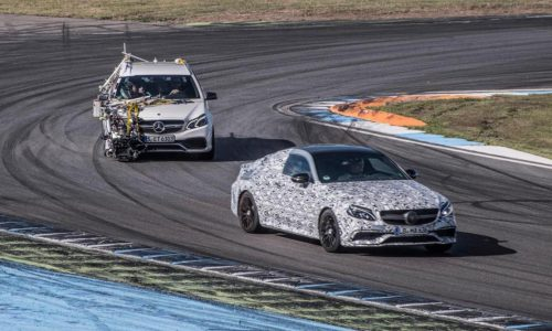 2016 Mercedes-AMG C 63 Coupe teased, again