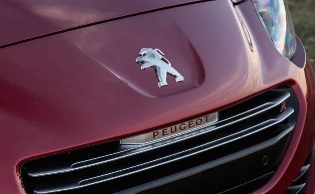 Peugeot RCZ badge