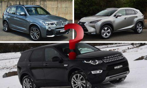 What premium SUV should you buy; Discovery Sport, BMW X3, Lexus NX?
