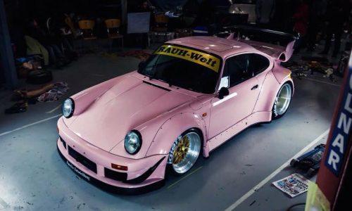 RAUH-Welt makes special pink Porsche 911 for Australian debut