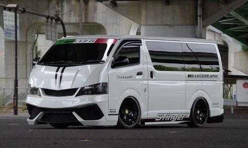 S.A.D Custom creates Lamborghini-like Toyota HiAce