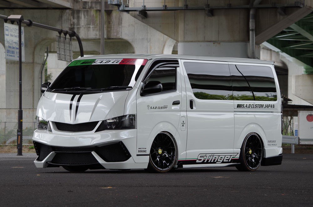 S A D Custom Creates Lamborghini Like Toyota Hiace