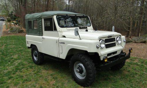 For Sale: Fully restored 1977 Nissan Patrol LG 60