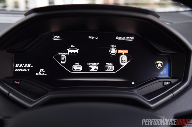 2015 Lamborghini Huracan-interface