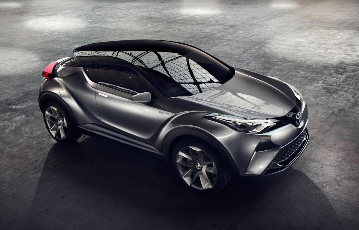 Toyota C Hr Concept Nearer To Production On Australia