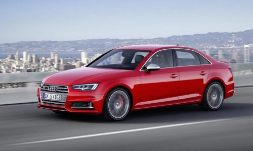 2016 Audi S4 unveiled at Frankfurt, in Australia Q4 2016