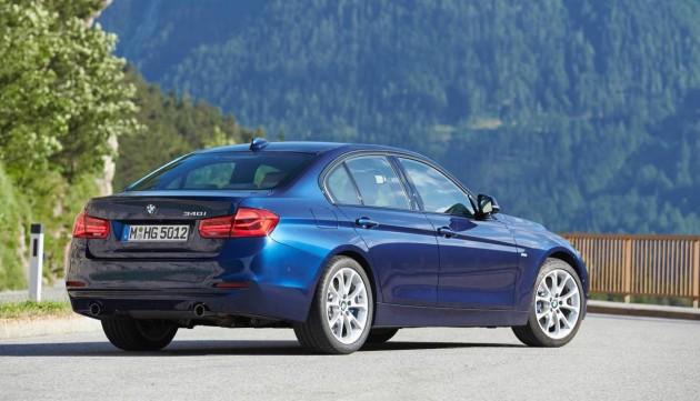 2016 BMW 3 Series-rear